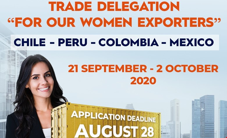 Virtual Trade Delegation to Chile, Peru, Colombia and Mexico for Women Exporters