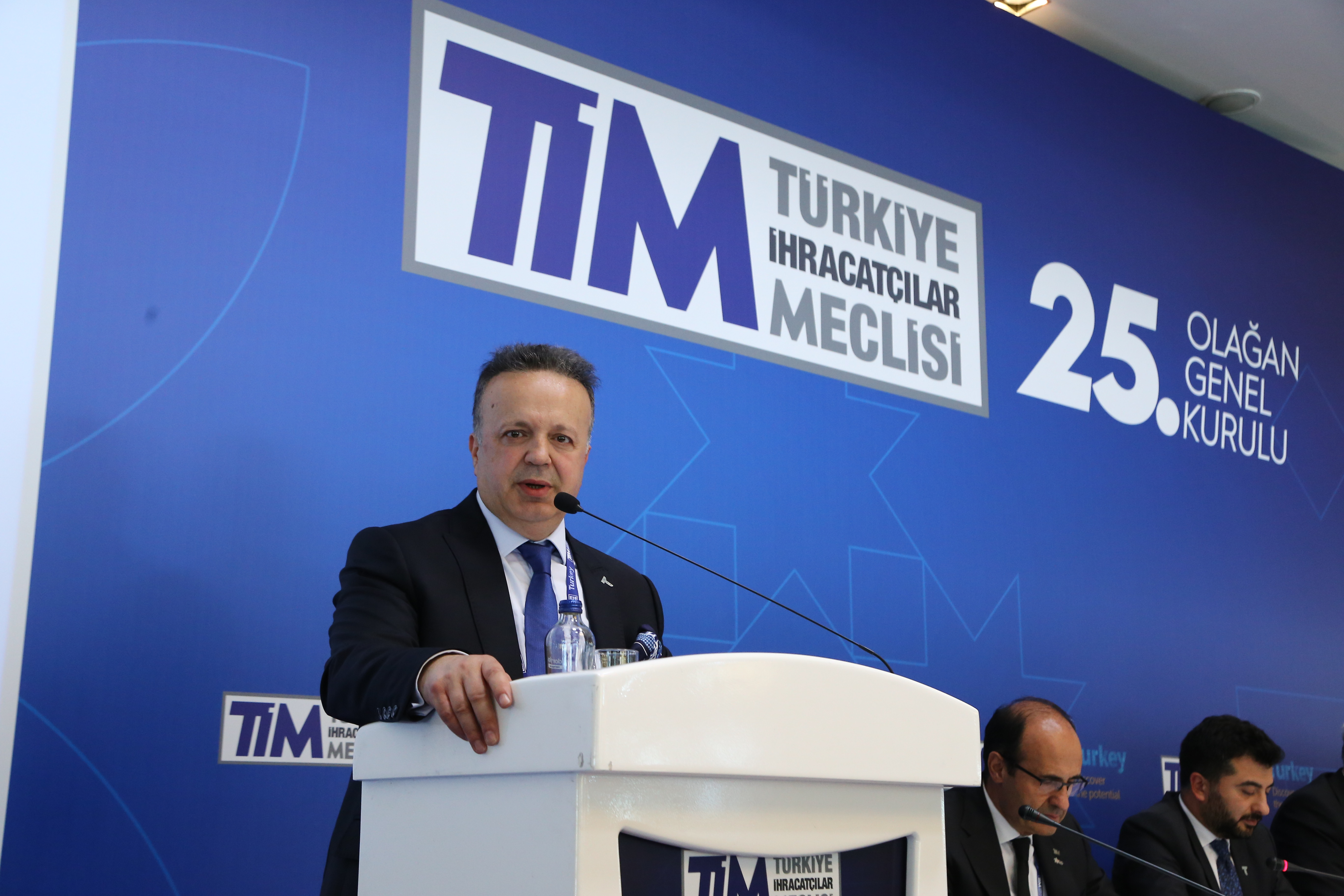 THE NEW CHAIRMAN OF EXPORTERS IS İSMAİL GÜLLE