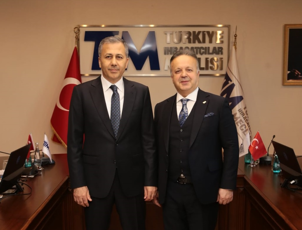 GOVERNOR OF ISTANBUL YERLİKAYA PAID A VISIT TO TİM CHAIRMAN GÜLLE
